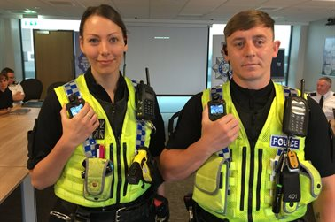 Force launches body worn video for officers