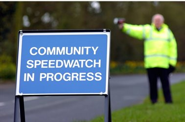 Community Speed Watch Pilot Launched